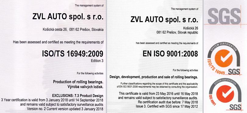ZVL Auto   Zertifikaten